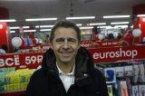 """Директор представительства """"ЕвроШоп""""  Клаус Зааге, на открытии магазина в Саранске"""