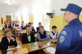 Урок по безопасности в школе № 777 г. Москвы, проведенный совместно с сотрудниками МЧС, по адресу: г. Москва, ул. Шатурская, д.1