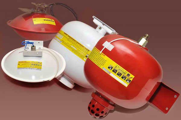 Буран-модуль порошкового пожаротушения