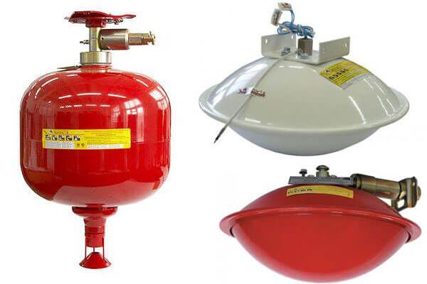 Сферы применения модулей пожаротушения Гарант в зависимости от объекта