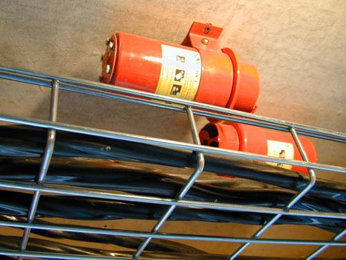 Установленное модульное пожаротушение на объекте