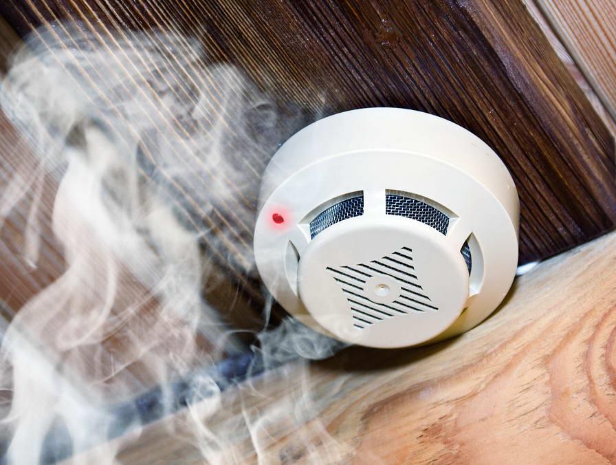 Дымовые пожарные датчики (извещатели)