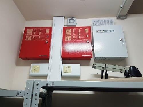 Модернизация и обовление пожарной сигнализации