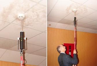 Проверка пожарной сигнализации по срабатыванию на дым