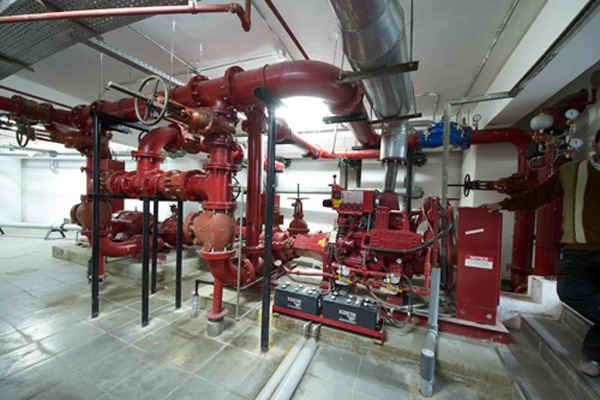 Принцип работы системы водяного пожаротушения