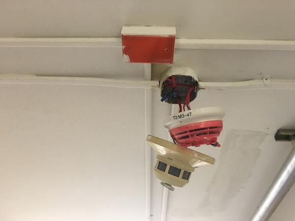 Замена пожарной сигнализации в связи с истечением срока эксплуатации