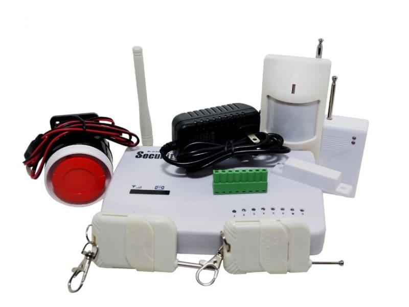 Активация, отключение и управление GSM сигнализацией