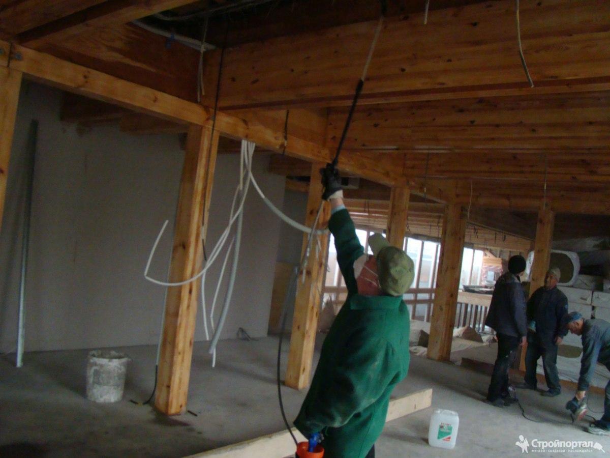 Комплексная защита древесины