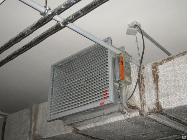 Автоматичекое отключение вентиляции при пожаре