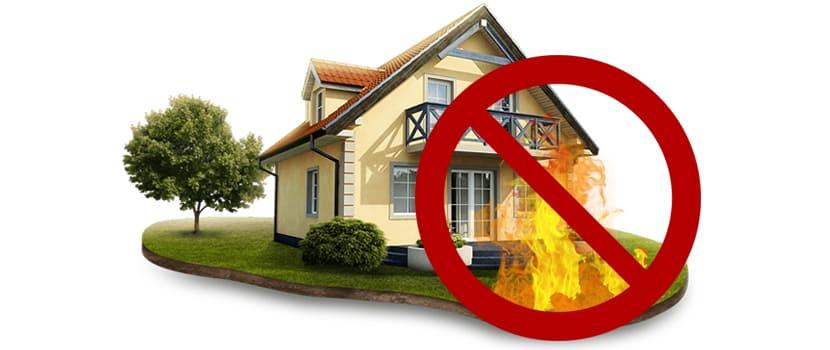 Защита дома от пожара